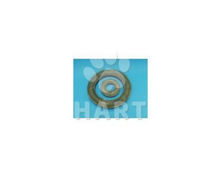 Kruh z bůvolí kůže VELKÝ-přírodní 15cm