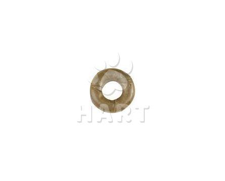 Kroužek z buvolí kůže malý, přírodní vel.cca7,5cm