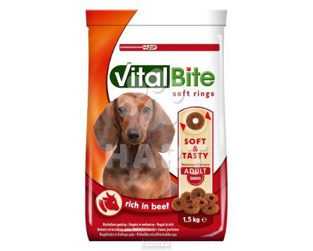 VitalBite SOFT RINGS  1,5kg - hovězí měkké kroužky