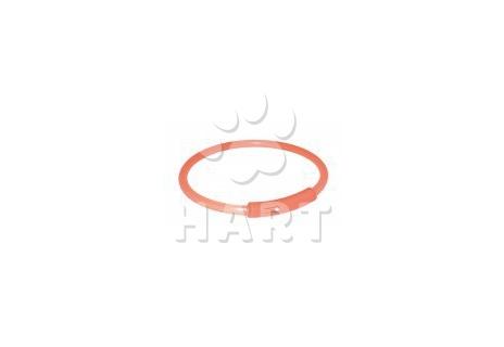 """Light Band oranžový blikající obojek (""""světelná bužírka"""") XL/58cm"""