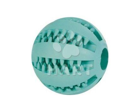 Denta Fun míč s mátou 5cm zelený Trixie, na zuby i hraní
