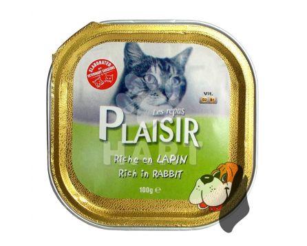 Plaisir Cat vanička Králík 100g