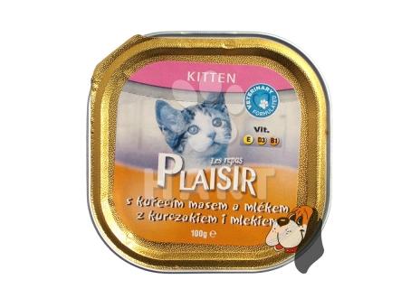 Plaisir Cat vanička Kitten 100g