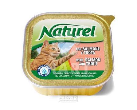 Naturel cat vanička Salmon&Trout(losos a pstruh) 100g