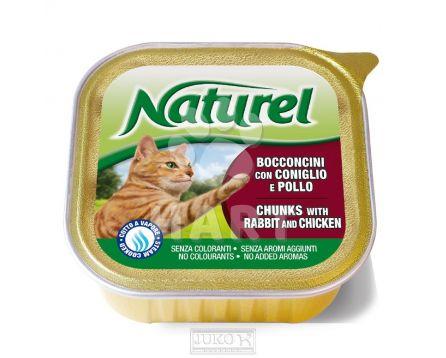 Naturel cat vanička Rabbit&Chicken 100g
