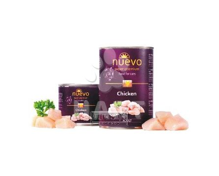 Konzerva nuevo CAT CHICKEN & SHRIMPS 400g