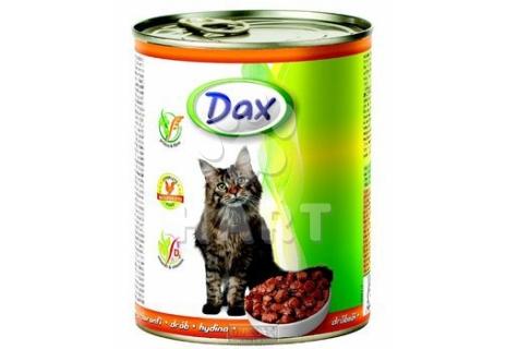 DAX kousky CAT - DRŮBEŽÍ  830g