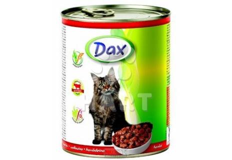 DAX kousky CAT  HOVĚZÍ   830g