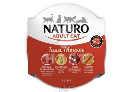 Naturo Cat Tuna Mousse 85g