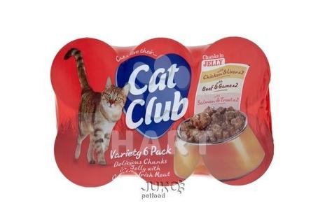 Cat Club Mix Chunks in Jelly - kousky v ŽELÉ    400g