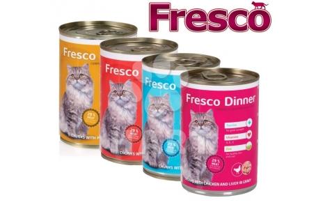 Fresco Dinner cat konzerva  drůbeží 400g