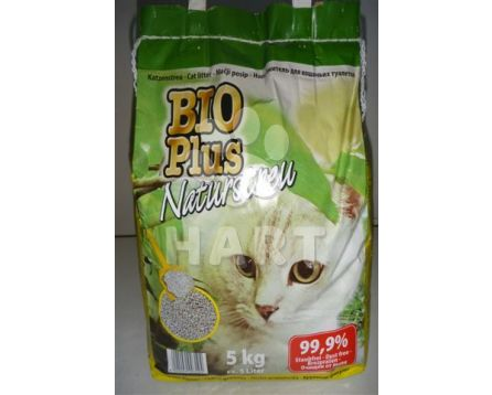 BIO PLUS 5kg - stelivo wc cat