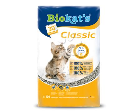 BIOKAT´S Natural Classic 10kg - stelivo wc cat