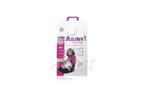 ASAN Cat PURE 10 litrů - stelivo pro kočky, koťata a fretky