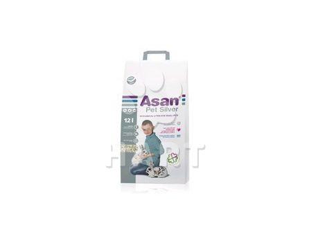 ASAN Pet SILVER 12 litrů - podestýlka/stelivo pro králíčky, morčata a jiné hlodavce
