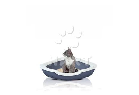 Kočičí toaleta FRED, vel.51×51×15 cm