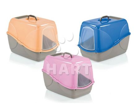 WC BUFFY Cat toilet Colori Fluorescenti dl.54 x š.38 x 38,5cm