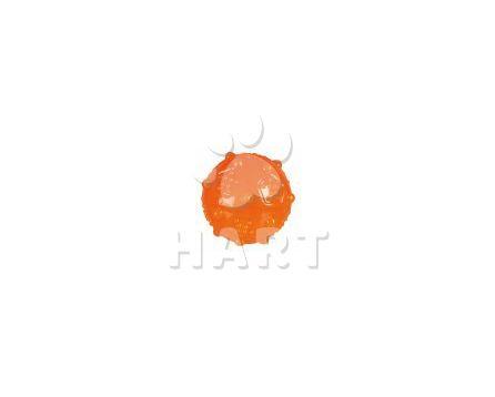 Míček různobarevný termoplastická guma  7 cm