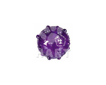 Míček různobarevný termoplastická guma (TRP) 8 cm