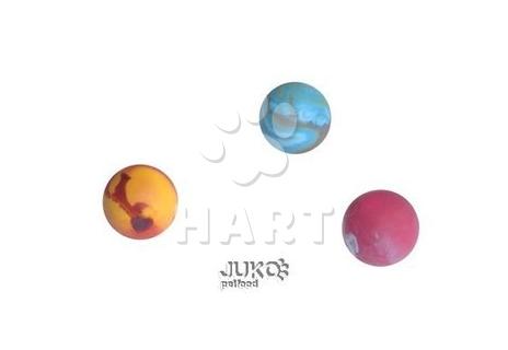 Míček z tvrdé gumy, plný, vonící, prům.cca 3,5cm-různé barvy
