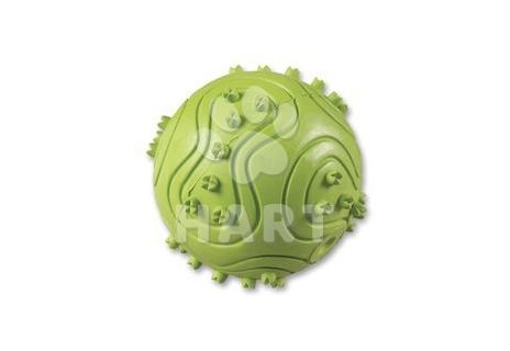 Míček zelený, nebo červený- tvrdá guma dutý, prům.6cm
