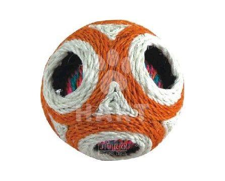 Míček v míčku sysal hračka/škrabadlo průměr 12cm         1ks
