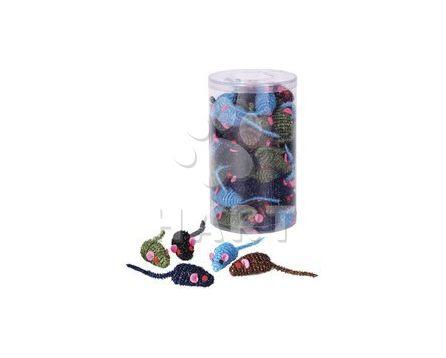 Myška Panika, různé barvy, sisálová, velikost 4,5 cm