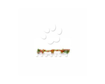 Bavlněný trojitý uzel z lana, dl.cca 35 cm, prům.2,2cm
