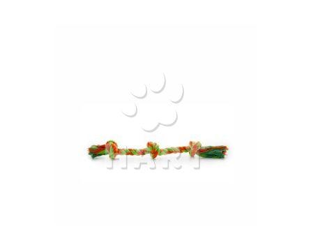 Bavlněný trojitý uzel z lana, dl.cca 50 cm, prům.2,5cm
