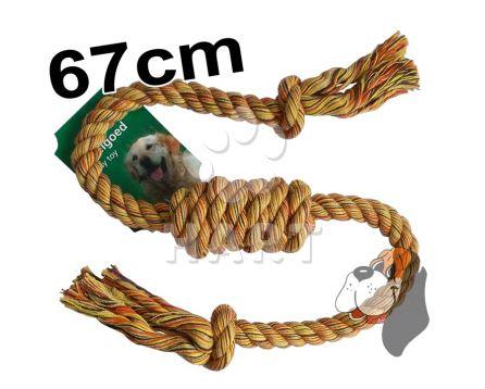 Přetahovadlo bavlna TUBE dl.67cm