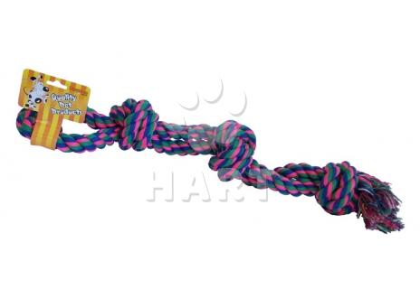Přetahovadlo/bavlněný uzel - vel.cca 43cm