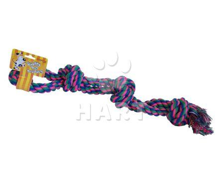 Přetahovadlo/bavlněný uzel - vel.cca 60cm