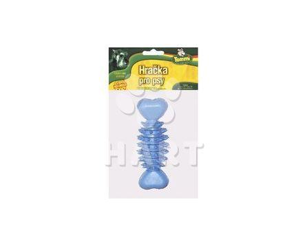 Kost ježatá malá z tvrdé gumy, kousací vel.cca 12,5cm