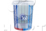 SALUTE 360 adult RYBA  med/maxi 5L + konzerva zdarma +odměrka zdarma