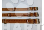 Obojek kožený typ HERRY š.45mm, dl.80cm