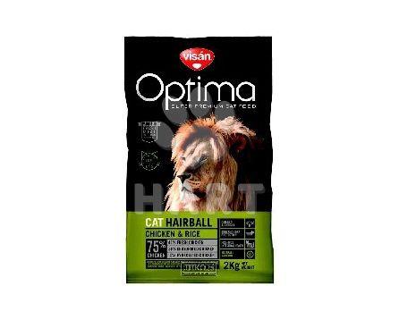 Visán OPTIMA Cat ADULT HAIRBALL     2kg