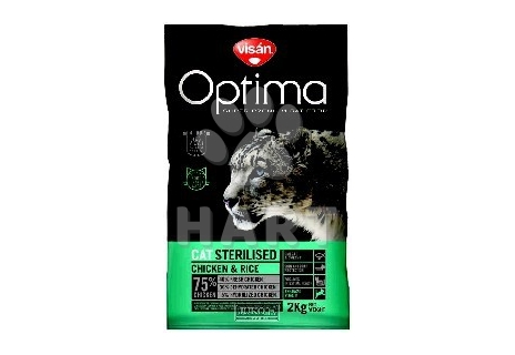Visán OPTIMA Cat  STERILISED -vážené    1kg
