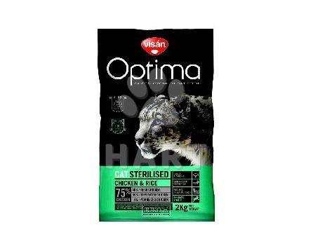 Visán OPTIMA CAT STERILISED    2kg
