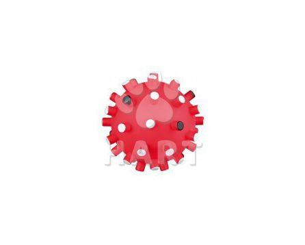 Míč pískací se špuntíky pískací, prům.6 cm TRIXIE