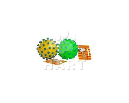 Hračka pro psy pískací - míč s ostny, prům.cca10cm