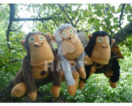"""Hračka pro psy OPICE """"Crazy monkey"""" - dog toy, vel.36cm"""
