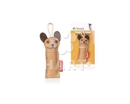 """Teeny Weeny Finger """"Paleček"""", hračka z kůže pro malá plemena, vel.cca10,5cm    1ks"""