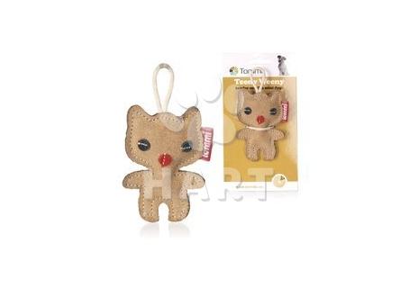 """Teeny Weeny Kitty """"Koťátko"""", hračka z kůže, vel.cca 9,5cm"""