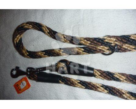 Vodítko přepínací, lano-SPIRÁLA, vel.prům.14 x dl.240cm