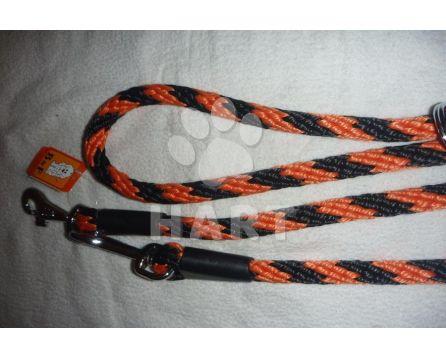 Vodítko přepínací, lano-SPIRÁLA prům.14mm x dl.240cm
