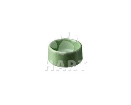 Miska betonová, glazurovaná, šedá  č.222 štěně, malý pes-obsah:0,55 litru