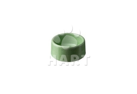 Miska betonová, glazurovaná č.171, šedá  obsah:0,9 litru