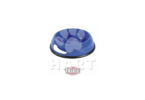 Plastová miska proti hltání jídla 1,5 litrů /prům.27 cm