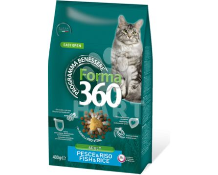 Benessere cat FORMA 360 Adult ryba+rýže   10kg