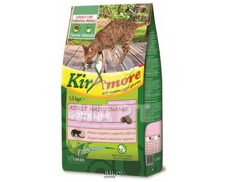 Kiramore Cat Adult Maintenance Gourmet 1,5kg